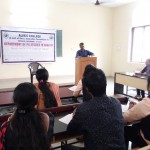 Guest Lecture by Dr. Mithun Chakravarthy, SDM College, Ujire on American Literature
