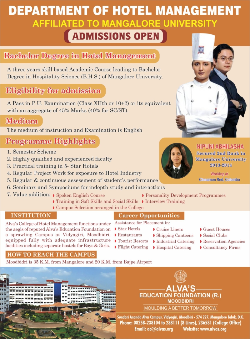 study hotel and general manager The requirements for a career as a hotel manager usually include  what are the education requirements for a hotel  management bachelor's program is general.