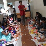 Visual Arts Artifice Paper Craft Workshop Held On 6th October 2014