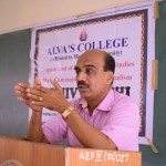 Guest Lecture by Prof Bhasker Hegde